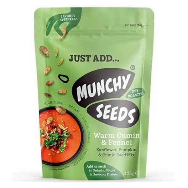Warm Cumin & Fennel Savoury Sprinkle Seeds Vegan