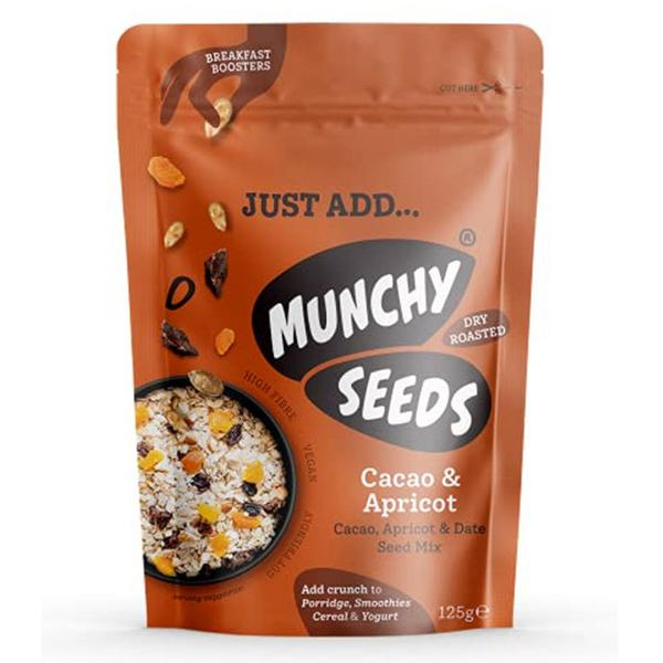 Cocoa & Apricot Breakfast Booster Seeds Vegan