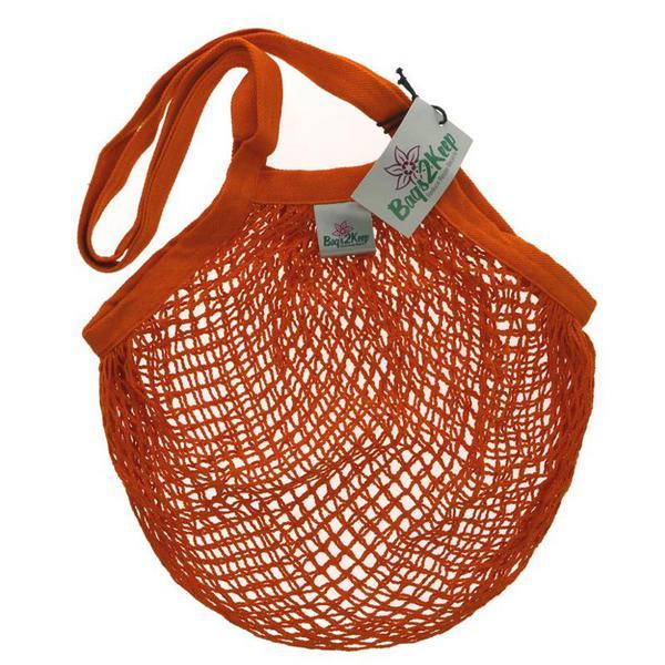 Cotton String Orange Bags