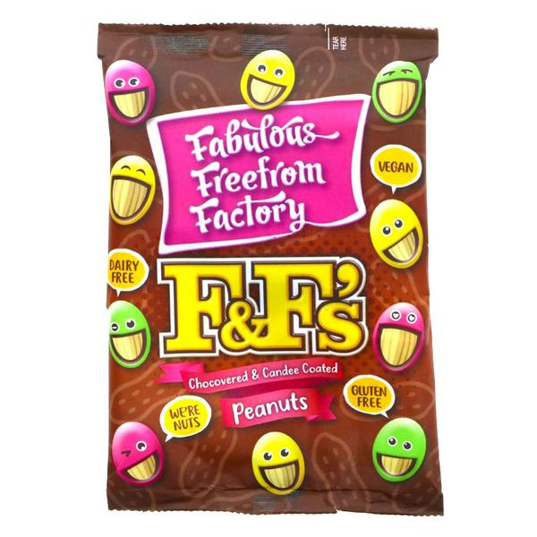 F & F's Peanuts dairy free, Vegan