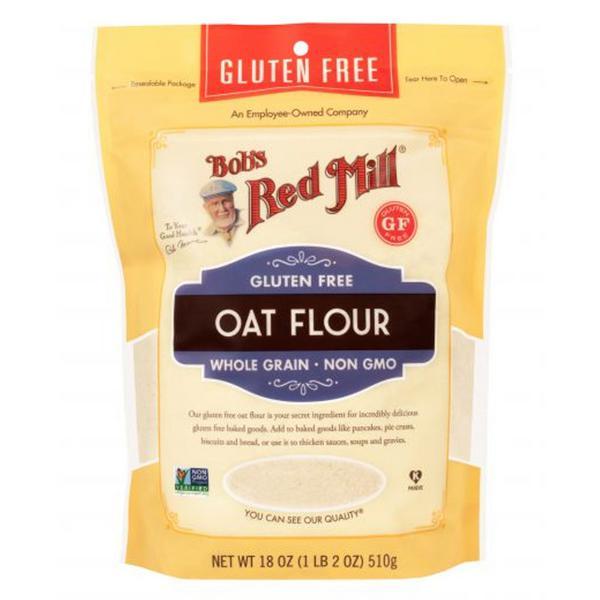 Wholegrain Oat Flour Gluten Free