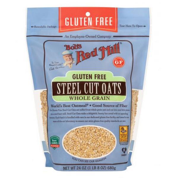 Wholegrain Steel Cut Oats Gluten Free