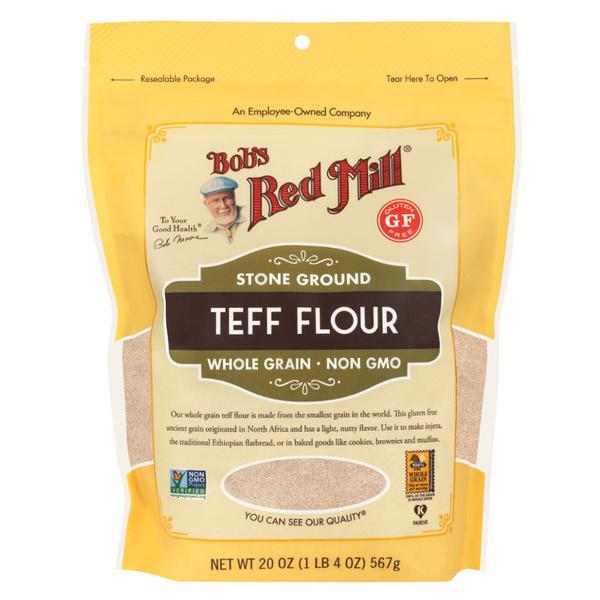 Wholegrain Teff Flour Gluten Free