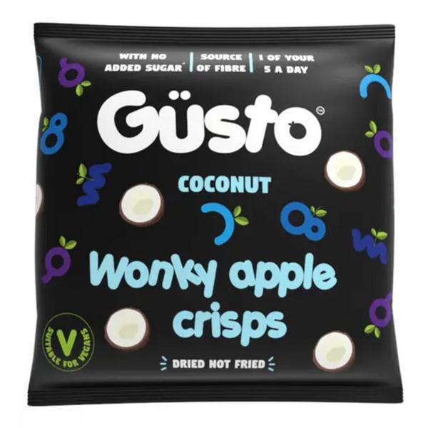 Air-Dried Wonky Apple Crisps Coconut