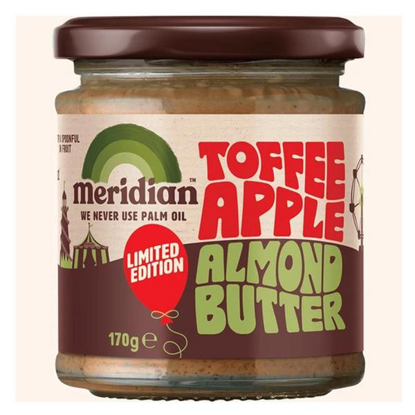 Almond Butter Toffee Apple
