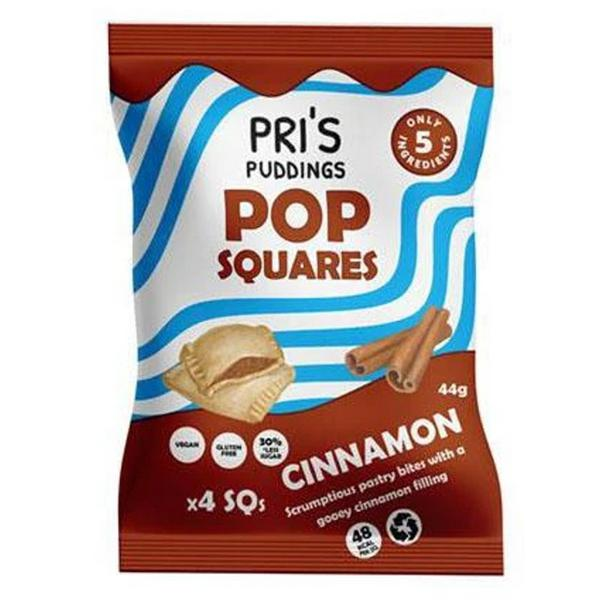 Cinnamon Pop Squares Vegan