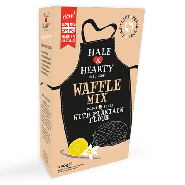 Waffle Mix With Plantain Flour