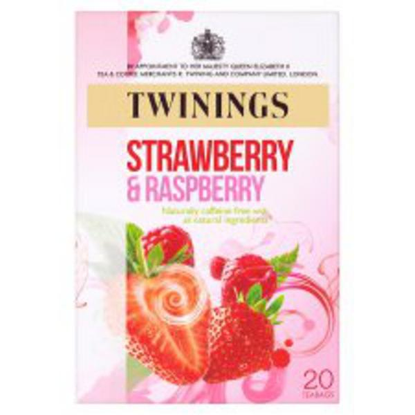 Strawberry & Raspberry T-Bags