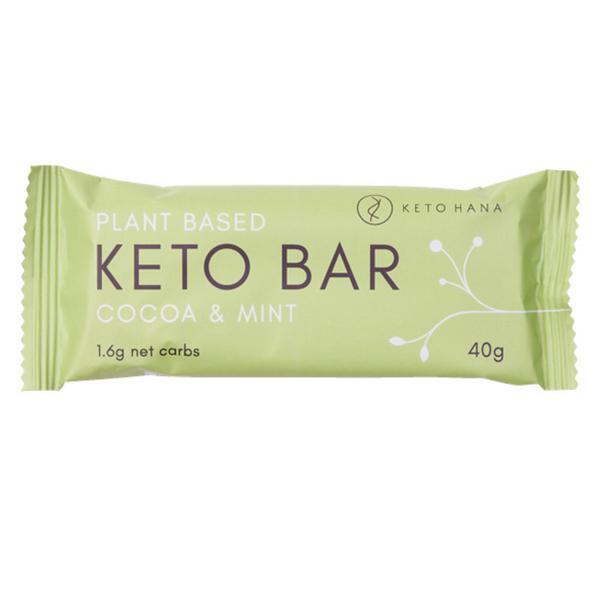 Plant Based Cocoa & Mint Keto Bar