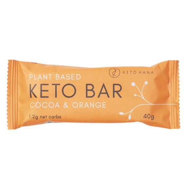 Plant Based Cocoa & Orange Keto Bar