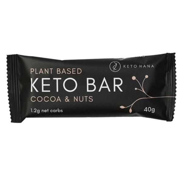 Plant Based Cocoa & Nuts Keto Bar