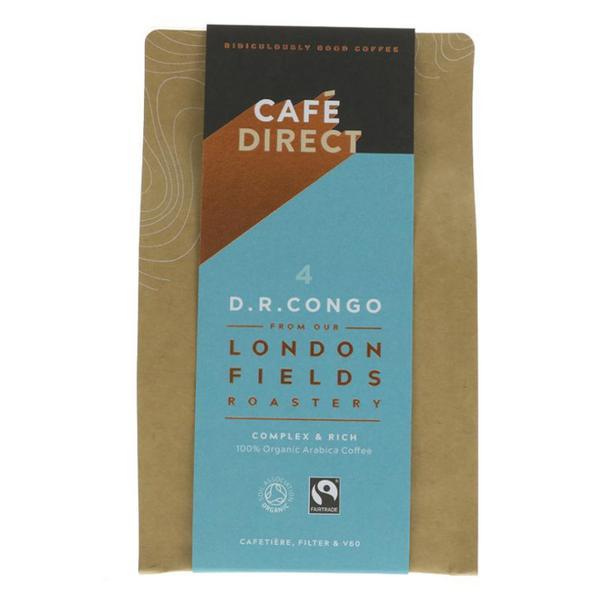 London Fields D.R. Congo Ground Coffee ORGANIC