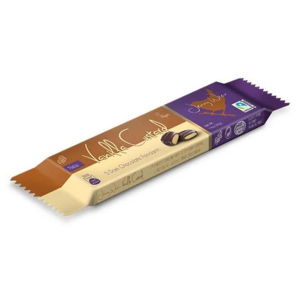 Dark Chocolate Fondants Vanilla Custard