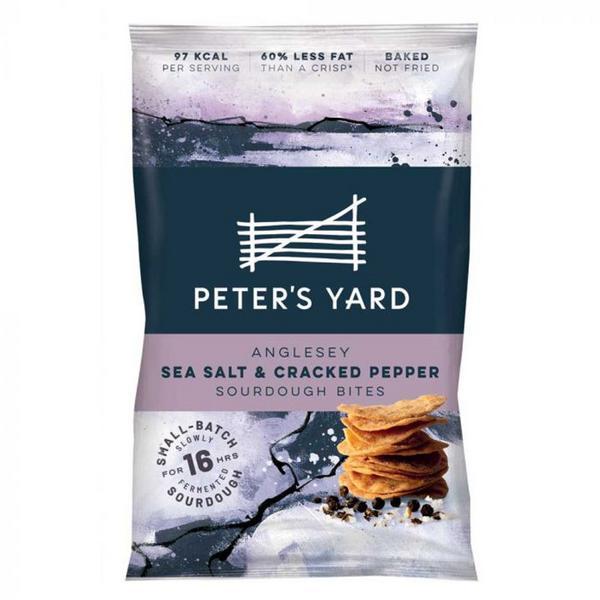 Sea Salt & Cracked Pepper Sourdough Bites
