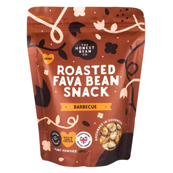 Roasted Fava Beans Barbecue