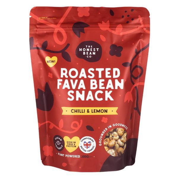 Roasted Fava Beans Chilli & Lemon