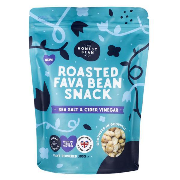 Roasted Fava Beans Sea Salt & Cider Vinegar