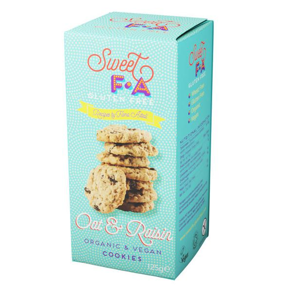 Sweet F.A. Cookie Oat & Raisin ORGANIC