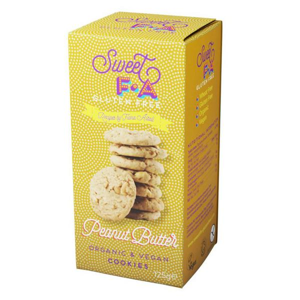 Sweet F.A. Peanut Butter Cookies