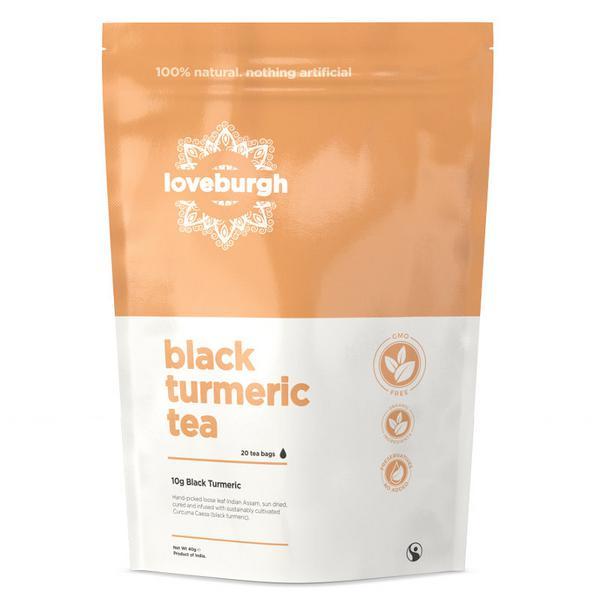 Black Turmeric Tea