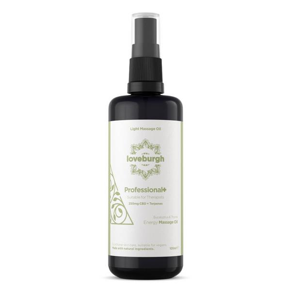 Renew Massage Oil CBD 250mg Professional+ ORGANIC