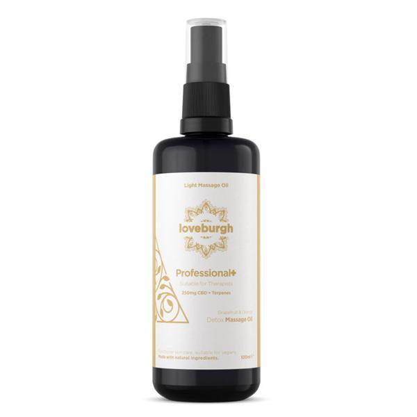 Detox Massage Oil CBD 250mg Professional+