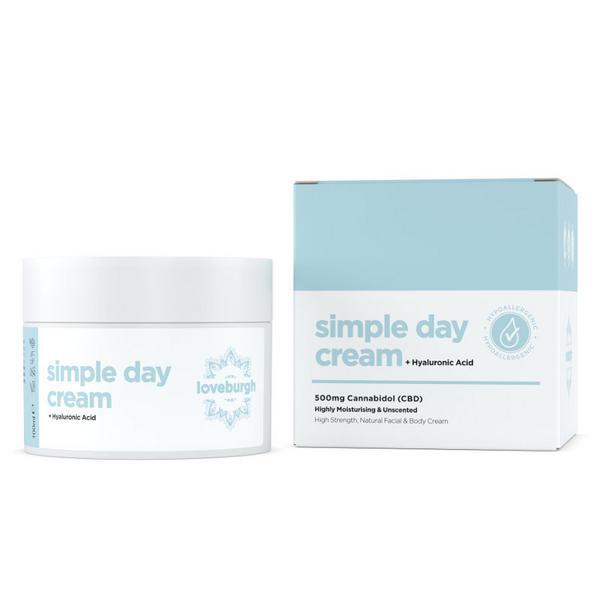 Anti-Ageing Day Cream CBD 500mg ORGANIC