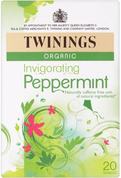 Invigorating Peppermint T-Bags ORGANIC