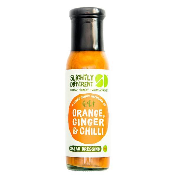 Ginger & Chilli Salad Dressing Orange