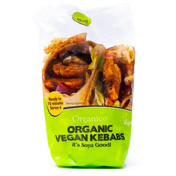 Soya Vegan Kebabs ORGANIC