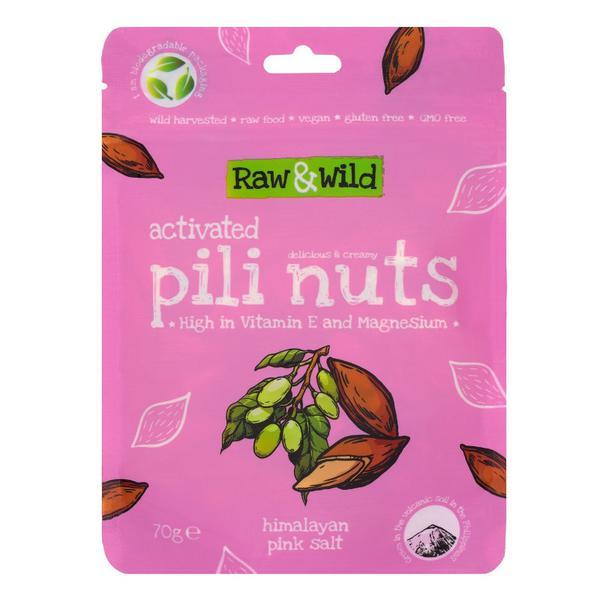 Activated Pili Nuts Himalayan Pink Salt