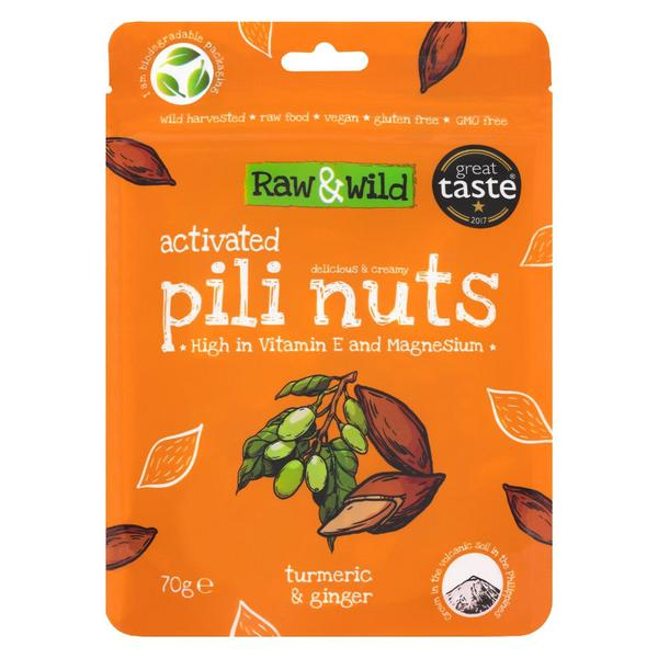 Activated Pili Nuts Turmeric & Ginger