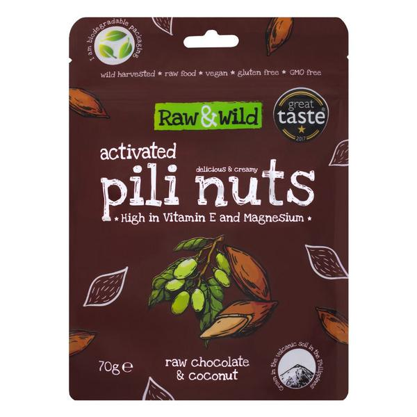 Activated Pili Nuts Raw Chocolate & Coconut