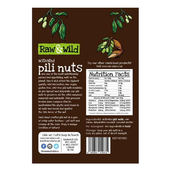 Activated Pili Nuts Raw Chocolate & Coconut image 2