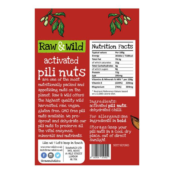 Activated Pili Nuts Chilli image 2