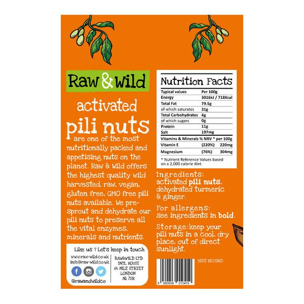 Activated Pili Nuts Turmeric & Ginger image 2