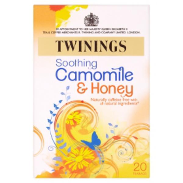 Soothing Chamomile & Honey T-Bags