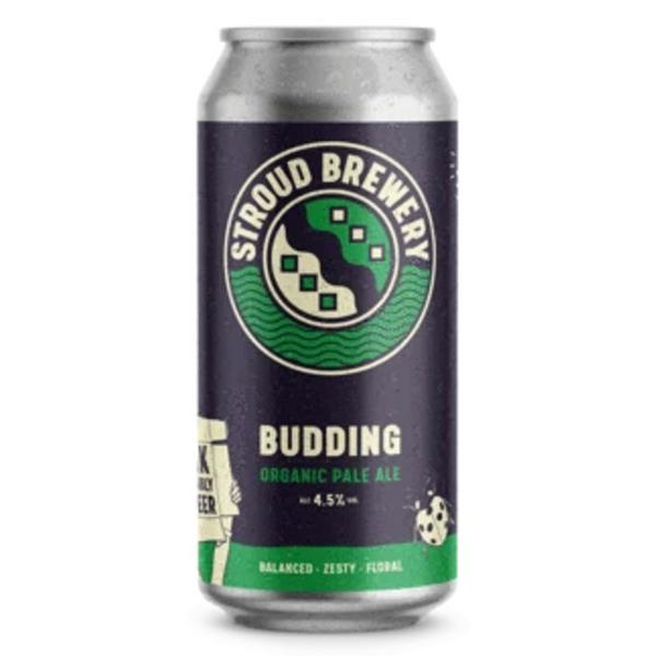 Budding Pale Ale Beer 4.5% ABV ORGANIC
