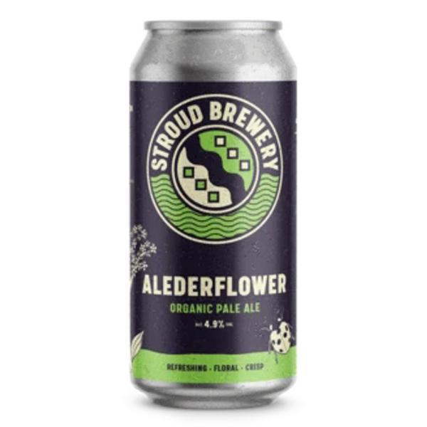 Alederflower Pale Ale 4.9% ABV Beer ORGANIC