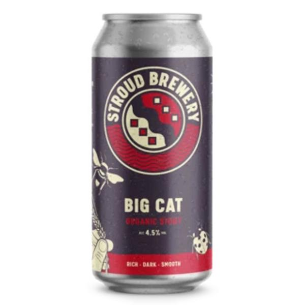Big Cat Stout 4.5% ABV Beer ORGANIC