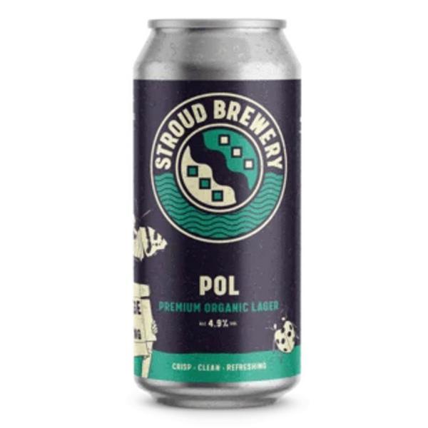 Premium Organic Lager 4.9% ABV Beer