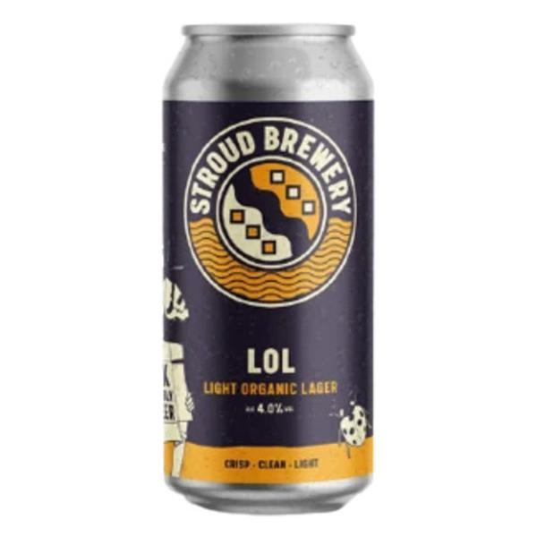 Light Organic Lager 4.0% ABV Beer
