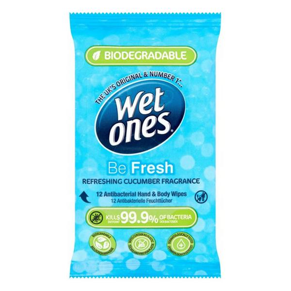 Be Fresh Antibacterial Biodegradable Wipes