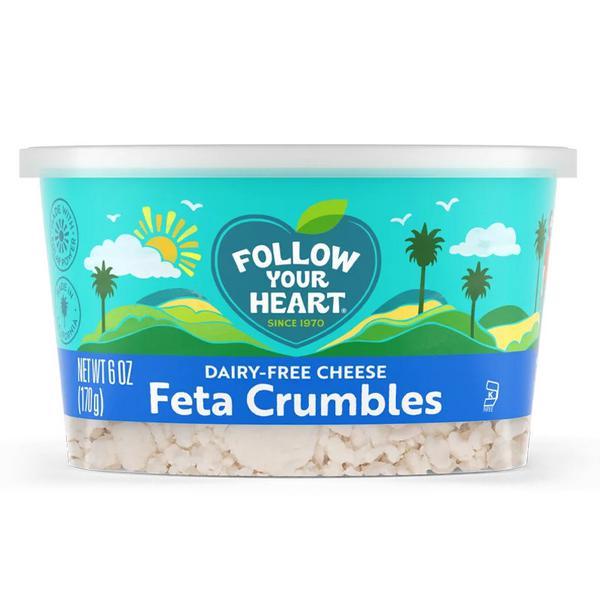Dairy Free Feta Crumbles Vegan