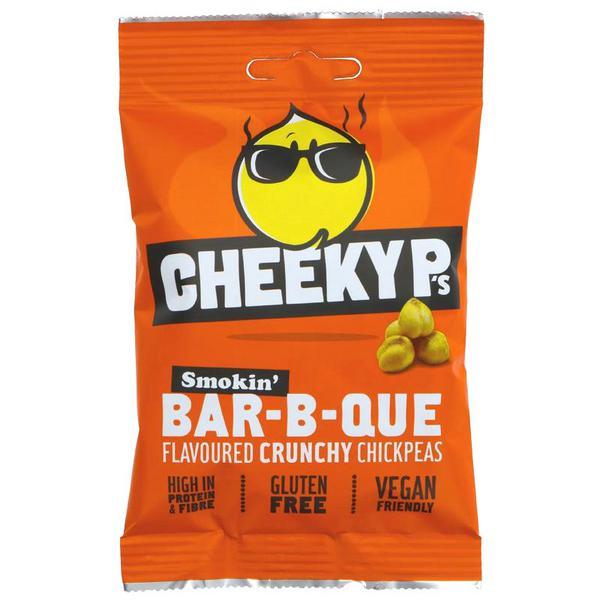 Crunchy Barbecue Chickpeas Gluten Free, Vegan