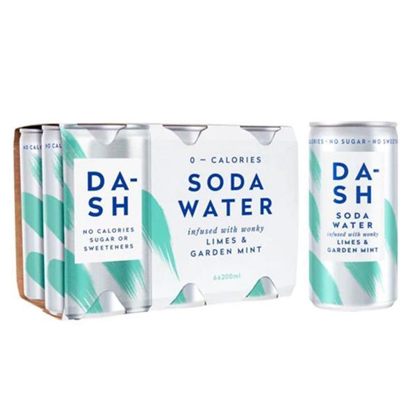Soda Water Limes & Garden Mint