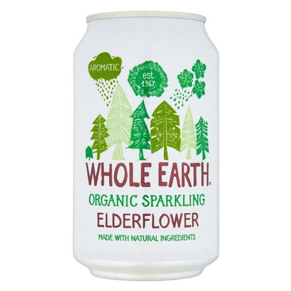 Elderflower Sparkling Drink ORGANIC