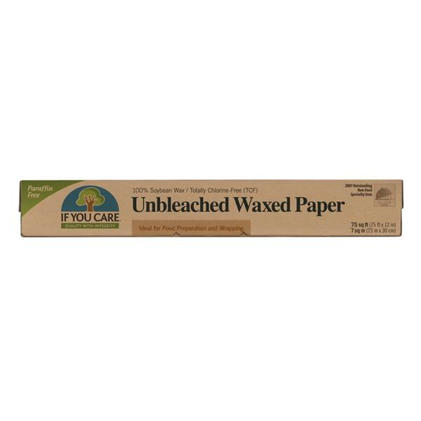Waxed Unbleached Paper