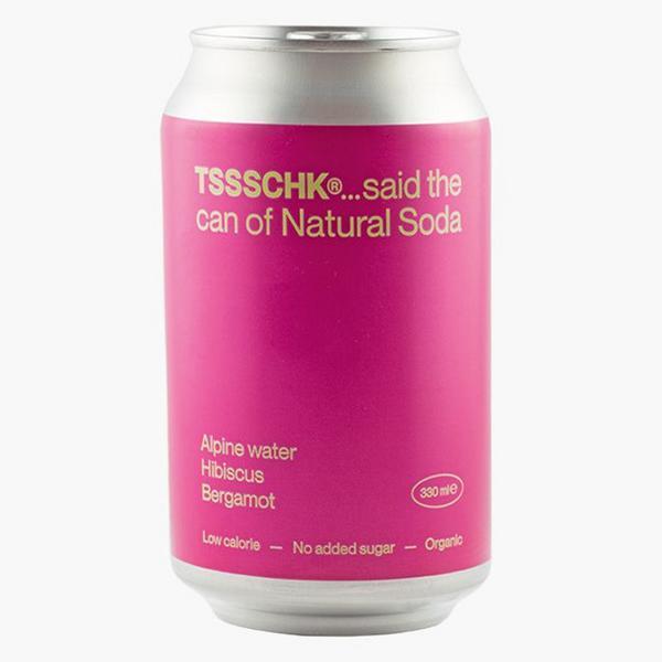 TSSSCHK.. Hibiscus Bergamot Soda ORGANIC