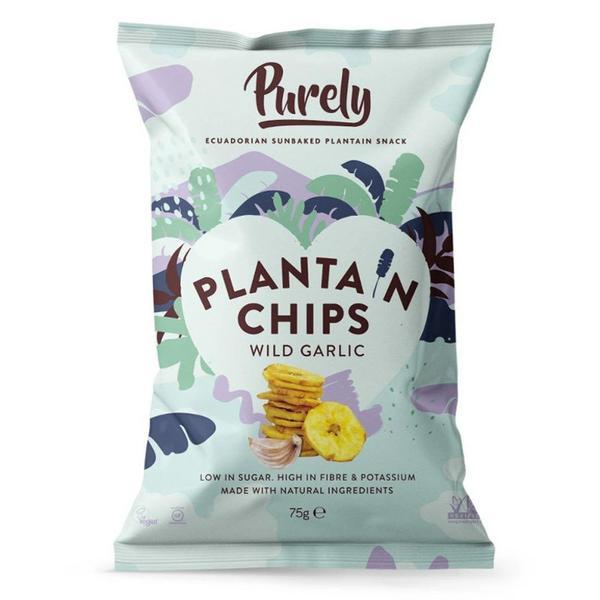 Plantain Chips Wild Garlic